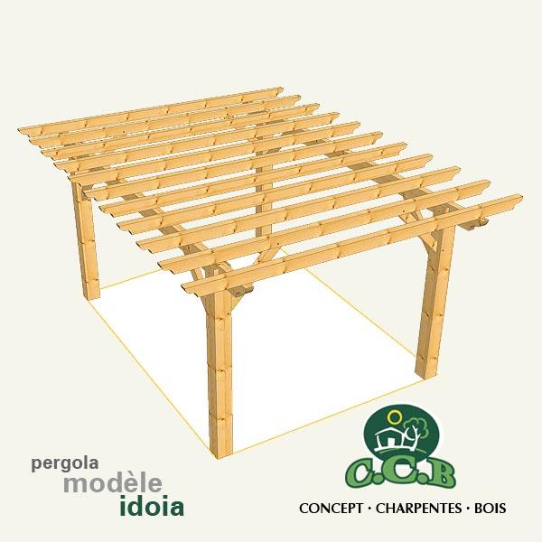 pergolas et tonnelles en bois constructeur pyr n es. Black Bedroom Furniture Sets. Home Design Ideas