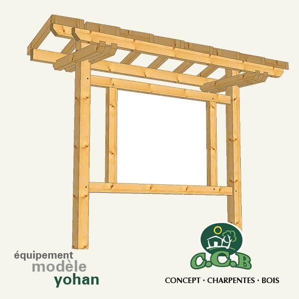 Mobilier et quipements ext rieurs en bois table en bois for Mobilier en bois
